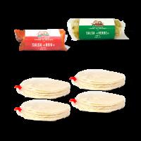 salsas et 40 tortillas