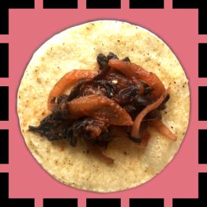 tacos tinga hibiscus vegetarien