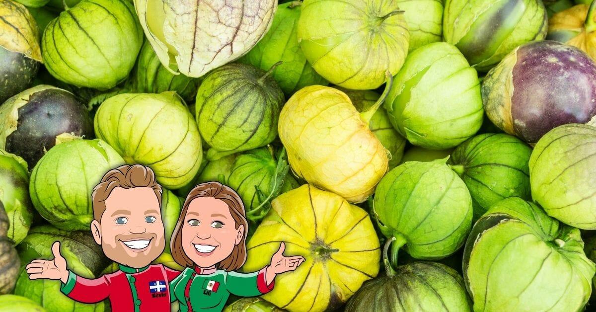 tomatillos salsa verde