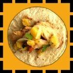 taco poulet pastor