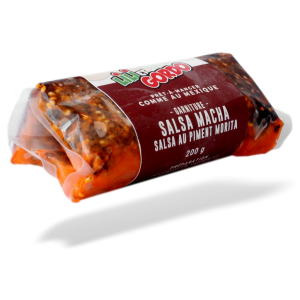 garniture a tacos salsa macha