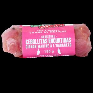 garniture a tacos cochinita oignon mariné