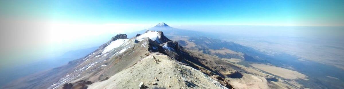 blogue cinco de mayo - volcan Iztaccíhuatl