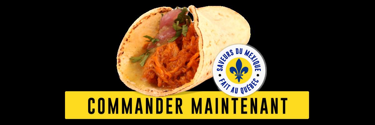 commander maintenant - tacos pour le cinco de mayo