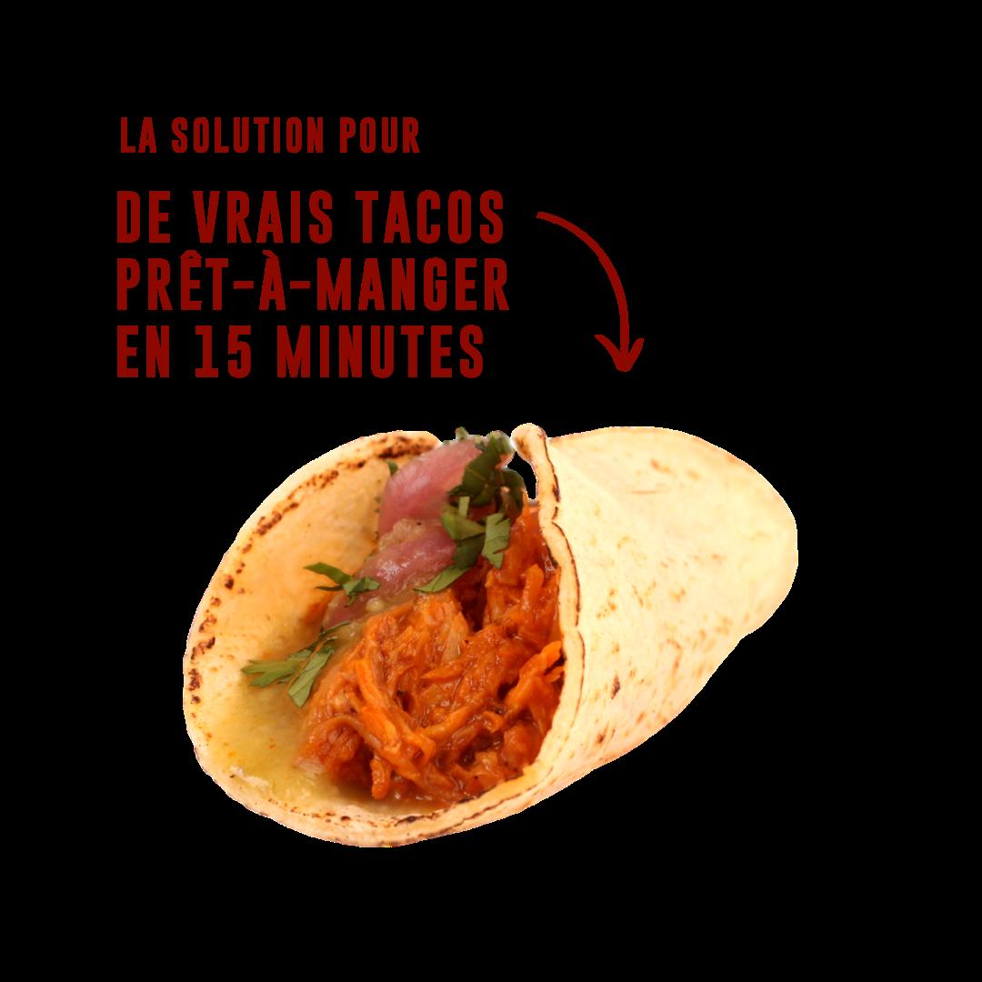 de vrais tacos