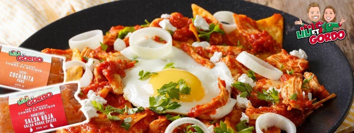 recette mexicaine rapide chilaquiles