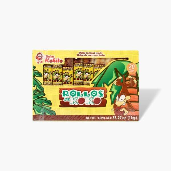 Rollos de koko Kokito